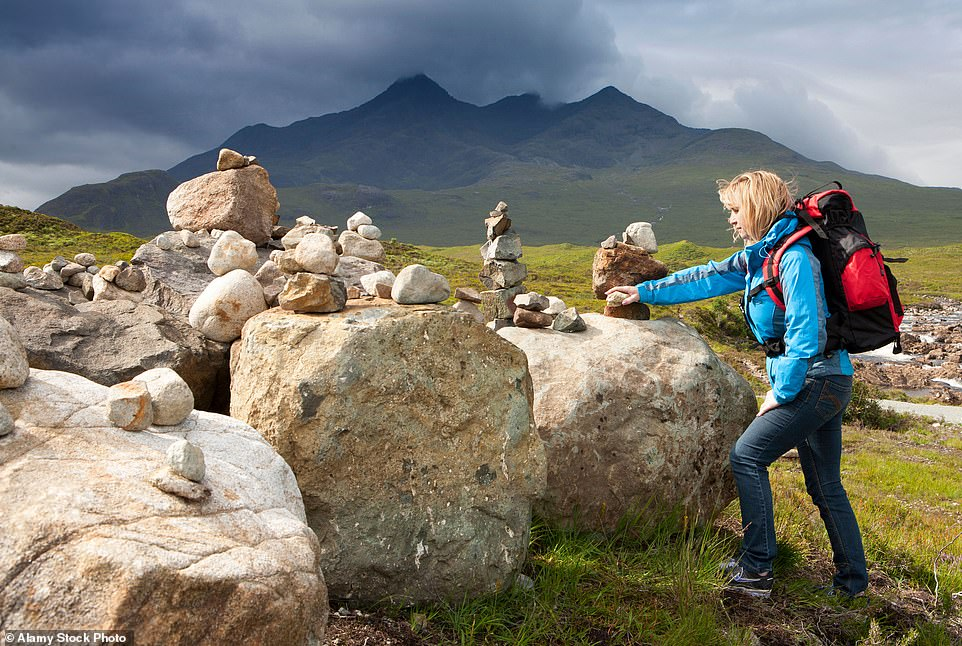 Show me the way to go home: In the days before maps and compasses, let alone GPS on smartphones, locals left piles of stones — or curricks — to guide travellers on the hills