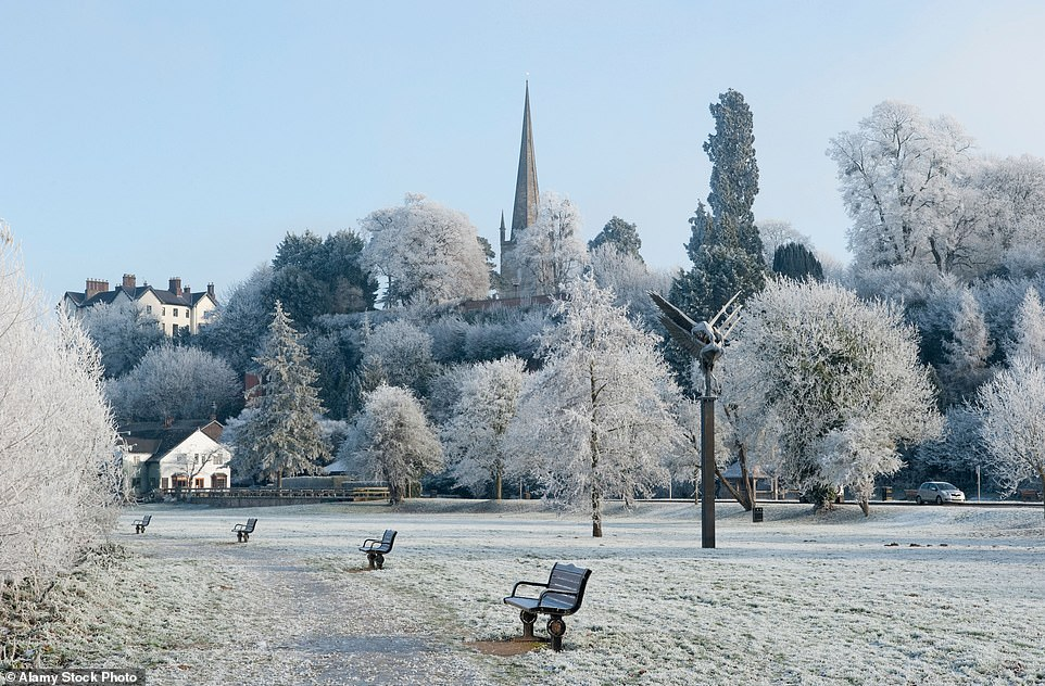 Wurr and peace: This obscure term collected by academic Robert Macfarlane in his book Landscape refers to the hoar frost covering this silent winter scene