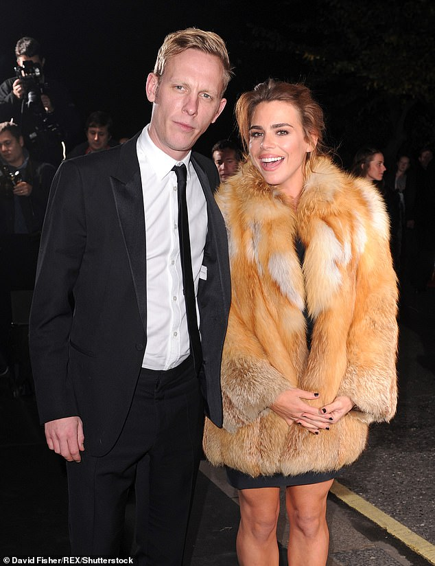 Laurence Fox (left) and Billie Piper (right)divorced in March 2016 and Laurence is the past said that it was quite a drastic life change