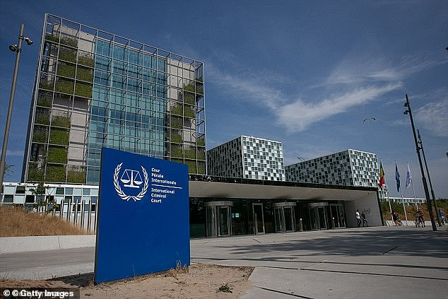 The International Criminal Court (file photo) said it has taken the accusations 'very seriously', according to the BBC