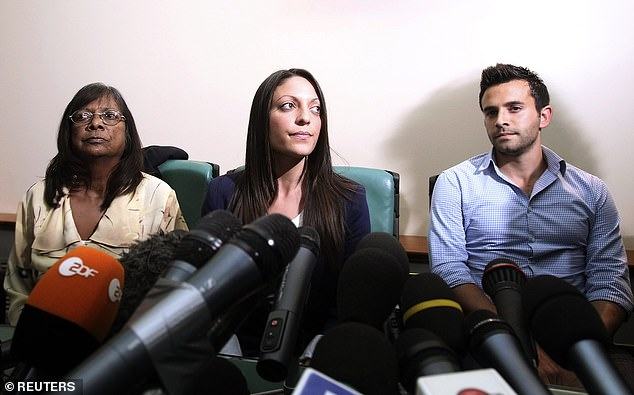 Meredith's family have long said there has not been sufficient justice for her. They have also condemned Knox's continued efforts to talk about the case publicly as 'inappropriate'