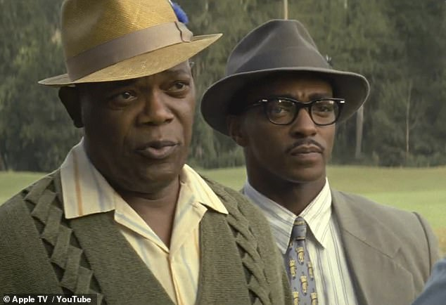 The Banker starring Samuel L.Jackson and Anthony Mackie was to premiere at AFI Fest in LA Thursday night but Apple canceled the screening citing 'concerns' about the movie