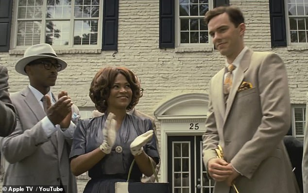 Garrett and Morris persuaded a white man, played by Nicholas Hoult, to be the face of their company. Apple purchased the film earlier this year and had plans for a theatrical release on December 6 as well as making it available via the Apple TV Plus streaming platform