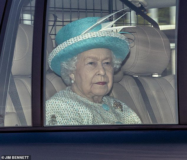 It was as if a mocking sadist had handed the Queen's beloved (some even say favourite) son a shovel and ordered him to dig away at a huge hole, into which he would quickly topple, writes BEL MOONEY. Pictured:The Queen leaving The Royal Chapel of All Saints at Windsor Great Park this morning