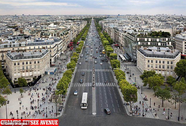 In Paris he owns the building that houses Apple's flagship store as well as a commercial building on the Champs-Elysee avenue