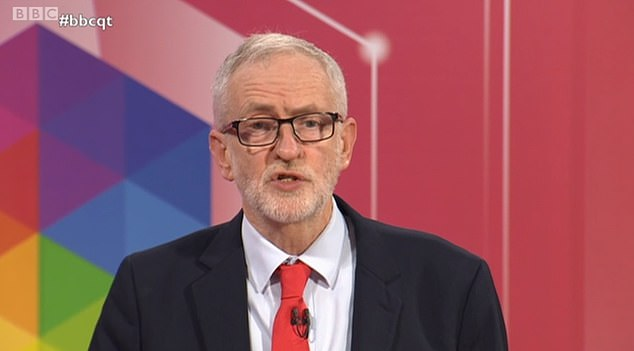 Jeremy Corbyn faced a battle to convince voters he is fit to be PM tonight as he was grilled on Question Time