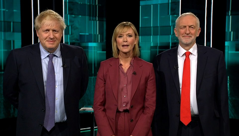 With just over three weeks to go until the nation goes to the ballot boxes, the two leaders drew battle lines in the ITV special as they set out their pitch to voters