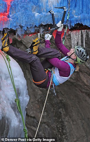 Harrington has won five US National Sport Climbing Championships and two North American Championships