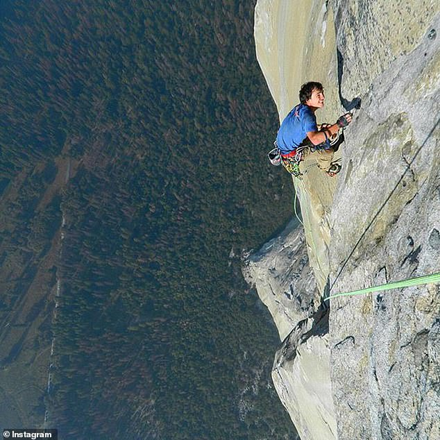 Gobright had been climbing since he was seven and in 2017 set a speed record for ascending the difficult Nose route of El Capitan in Yosemite National Park