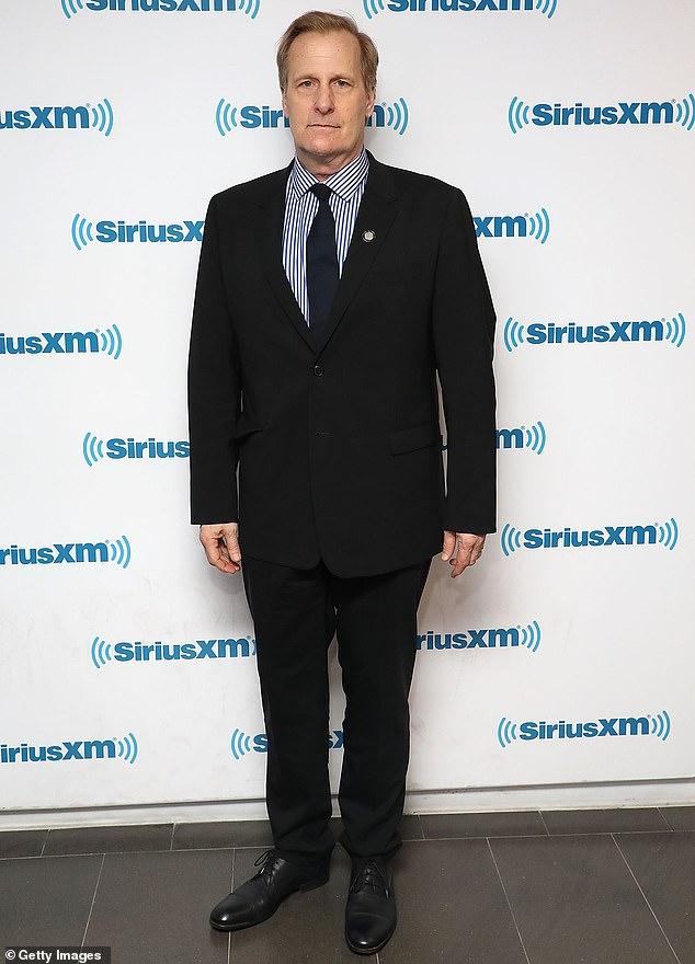 Lead role: The Squid And The Whale's Jeff Daniels was announced to play the FBI director in October, and filming began earlier this month; shown in May in New York City