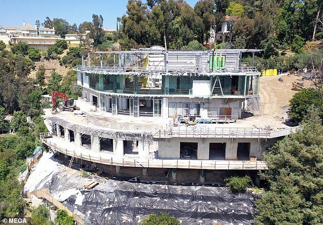 Judge Craig Karlan ruled the 30,000-square foot was 'clear and present danger' to nearby homes in its exclusive Bel Air neighborhoo.  Judge Karlan appointed receiver Douglas Wilson responsibility of demolishing the 'eyesore', which has been dubbed the 'Starship Enterprise'
