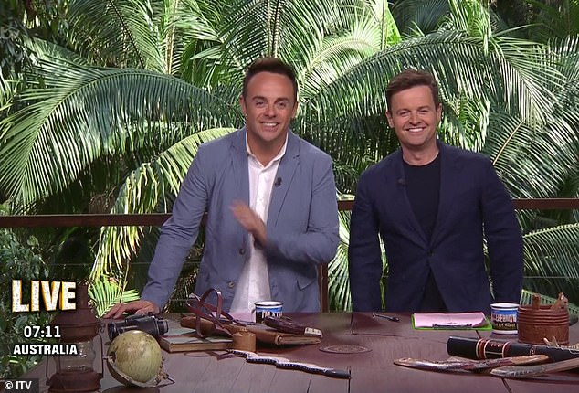 I'm A Nonentity... I'll Do Anything For Attention is back for its 19th series. Pictured: Ant and Dec hostI'm a Celebrity... Get Me Out of Here! (ITV)