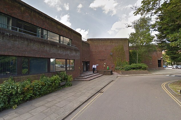 Essom of Ludlow Close, Northampton, was starting his eight year prison sentence after he was found by all members of the jury to have committed trespass with intent to commit a sexual offence