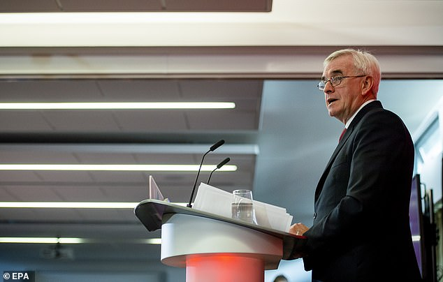 Shadow Chancellor John McDonnell said the broadband rollout would begin with communities that have the worst access, followed by towns and smaller centres