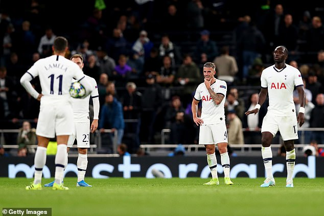 Spurs have looked a shadow of their former selves and Levy couldn't let that continue