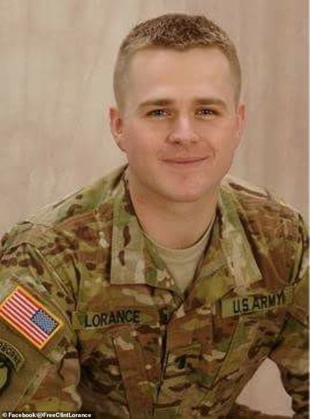Trump ordered the release of Clint Lorance (pictured), a former army lieutenant who was convicted of murder for ordering soldiers under his command to open fire on three unarmed Afgan men, including two who died
