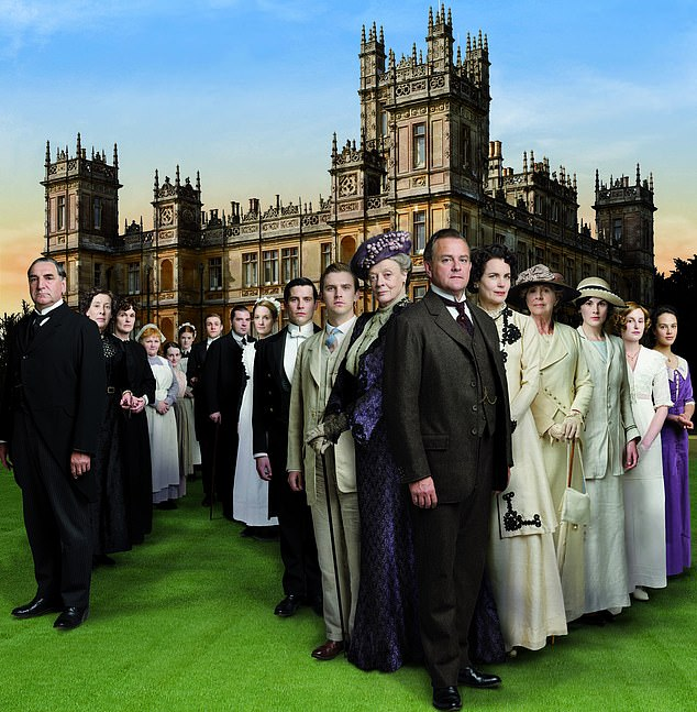 Fellowes said that he decided to give his much-loved Downton Abbey character Carson the same affliction in the final series of the show in a bid to ¿get it out there¿