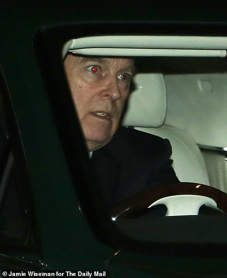 He was pictured leaving Buckingham Palace last night, his first appearance since the interview