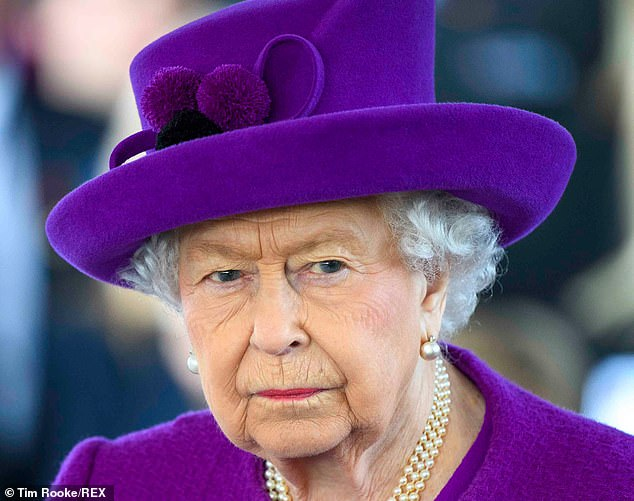 Members of the Royal Family are allowed to cast a ballot but, by tradition, choose not to do so. Pictured: The Queen