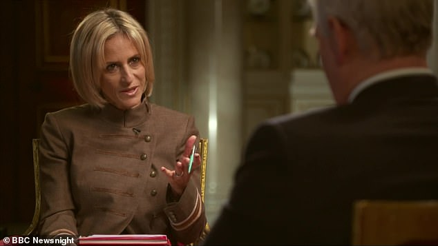 Asked repeatedly by Maitlis whether he had ever met his accuser Virginia Roberts Giuffre, he replied: 'I have no recollection of ever meeting this lady, none whatsoever'