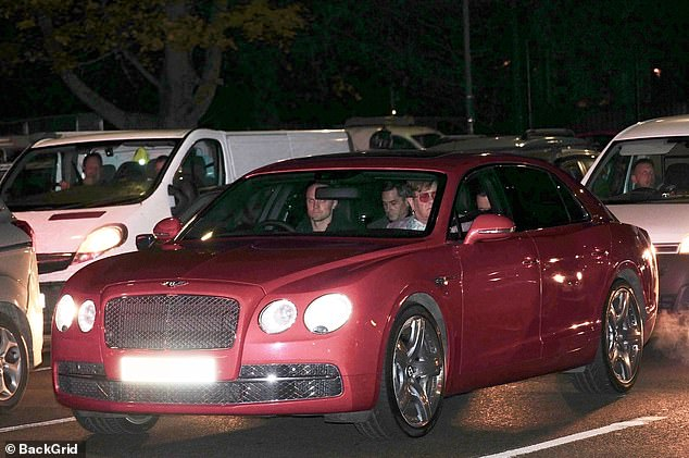 See him rolling! Elton John proved that he couldn't avoid the daily struggle of rush hour traffic as he drove to In Conversation event at London's Eventim Apollo in a Bentley V12 on Tuesday