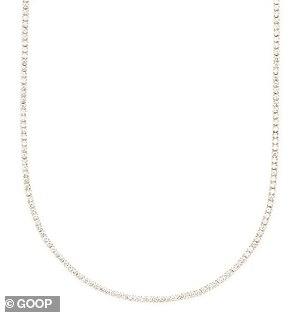 The list include a $21,000 Anita Ko diamond necklace