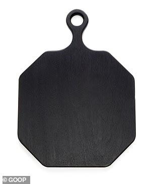 She likes this$250 plain black serving board
