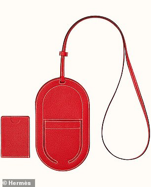 On the list is a $1,250 Hermes phone case