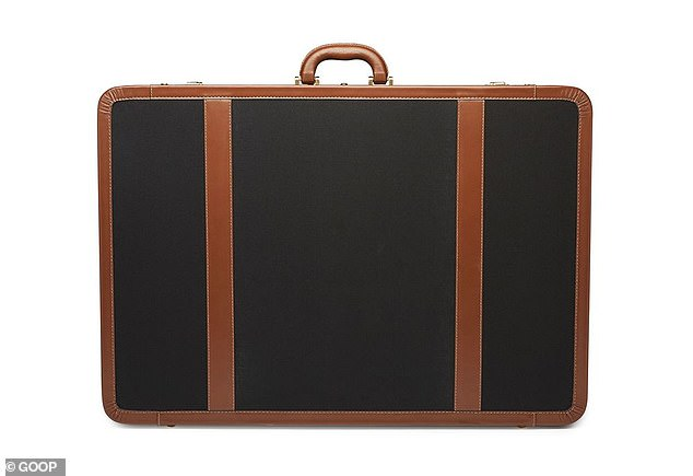 Handy? This $1,700 suitcase she suggests has a single handle and isn't on wheels.