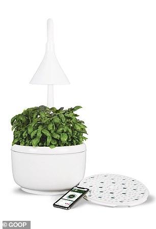 This 'smart' microgarden is $799