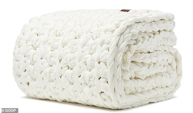 Wow! Weighted blankets aren't cheap but this one costs a staggering $485