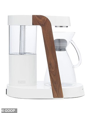 The list includes a$495 Ratio Coffee coffee maker