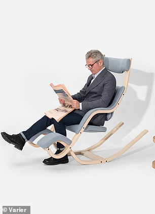 The list includes a $1,999 Varier Gravity Balans Chair that simulates weightlessness