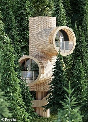 The's alsoa $110,000 Precht treehouse