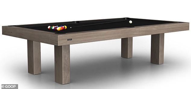 Who needs a 401k anyway? There's also a $250 Safe-T brass fire extinguisher, a $5,000 vintage Louis Vuitton trunk, and a $23,730 billiards table (pictured)