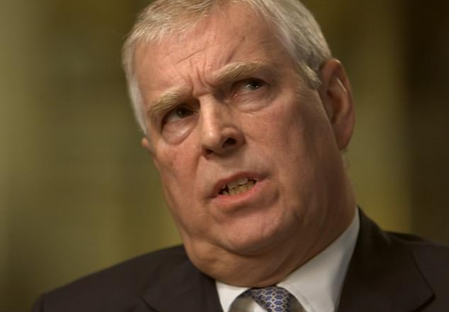 Prince Andrew, pictured on Newsnight, took on a role as a trade ambassador for Britain after he left the navy. This led to him also becoming friends with Libya's then rulers