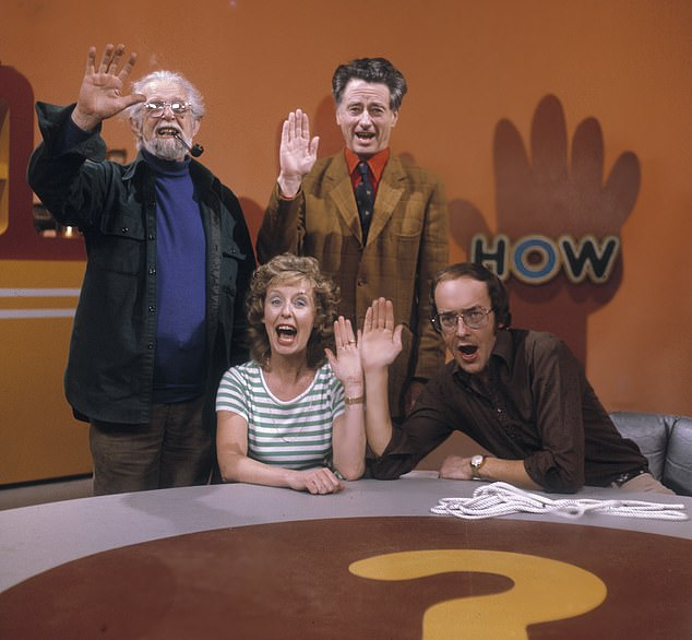 ITV bosses announced this week that How is making a comeback next year, returning to TV more than half a century after its launch in 1966 (Pictured: Jon Miller, Marian Davies, Jack Hargreaves and Fred Dinenage)