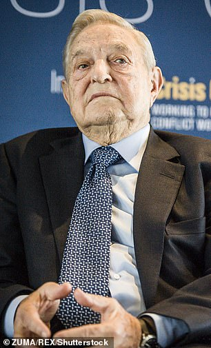 Foundations set up by eBay creator Pierre Omidyar and left-wing billionaire investor George Soros (pictured) are funding Full Fact