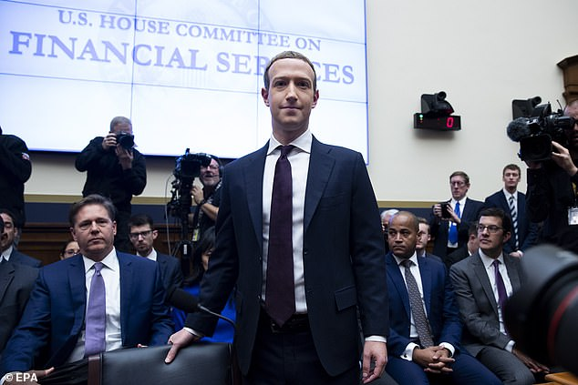 Mark Zuckerberg's Facebook paid £132,000 in the first six months of 2019after criticism about how the social network has handled the spread of misinformation on its platform