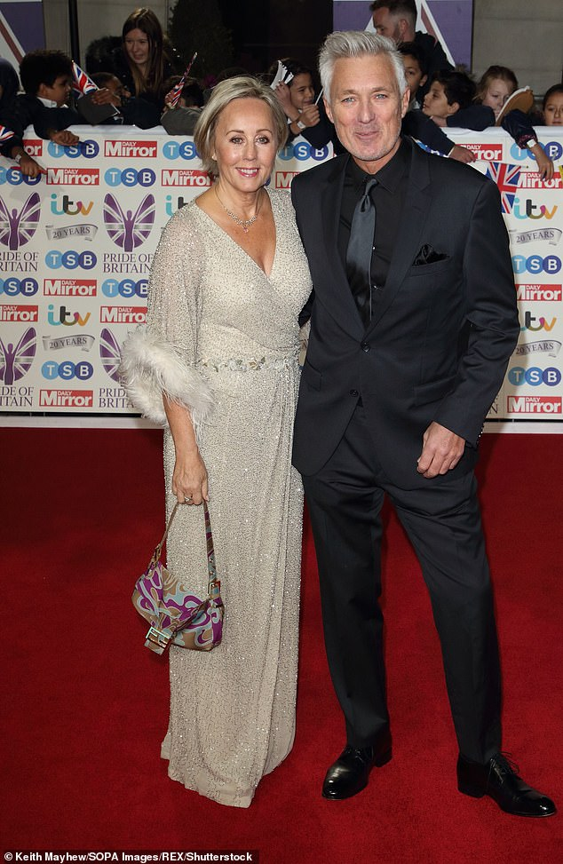 Famous relatives:Spandau Ballet and EastEnders star Martin is married to Wham! singer, Shirlie Holliman, with her former bandmate, George, being Roman's godfather