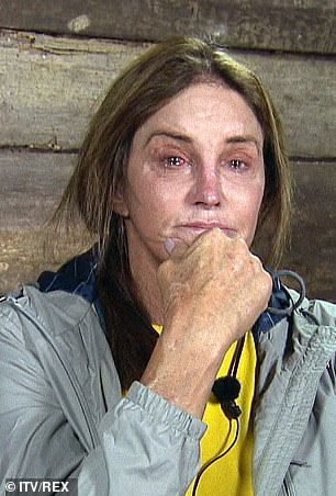 Tearful: Caitlyn wondered whether she might end up quitting the show