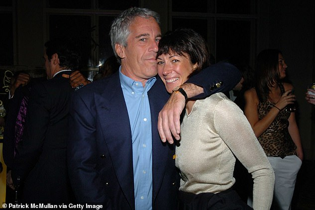Together: Jeffrey Epstein and Ghislaine Maxwell pictured together in New York in 2005