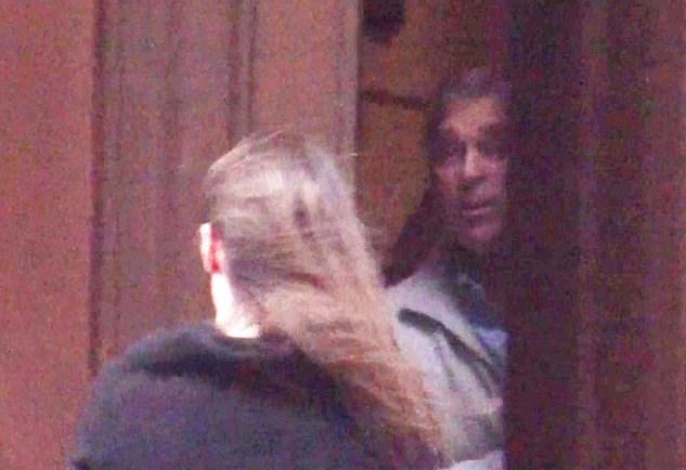 Mansion: Prince Andrew has previously denied being aware of any of Epstein's illegal activities. He is pictured above in 2010 answering the door of Epstein's New York mansion