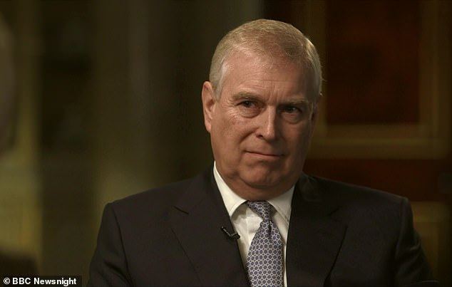 Interview: On Saturday night, Prince Andrew told the BBC that when Epstein was a guest atWindsor Castle and at Sandringham in 2000 there was 'no indication' of wrongdoing