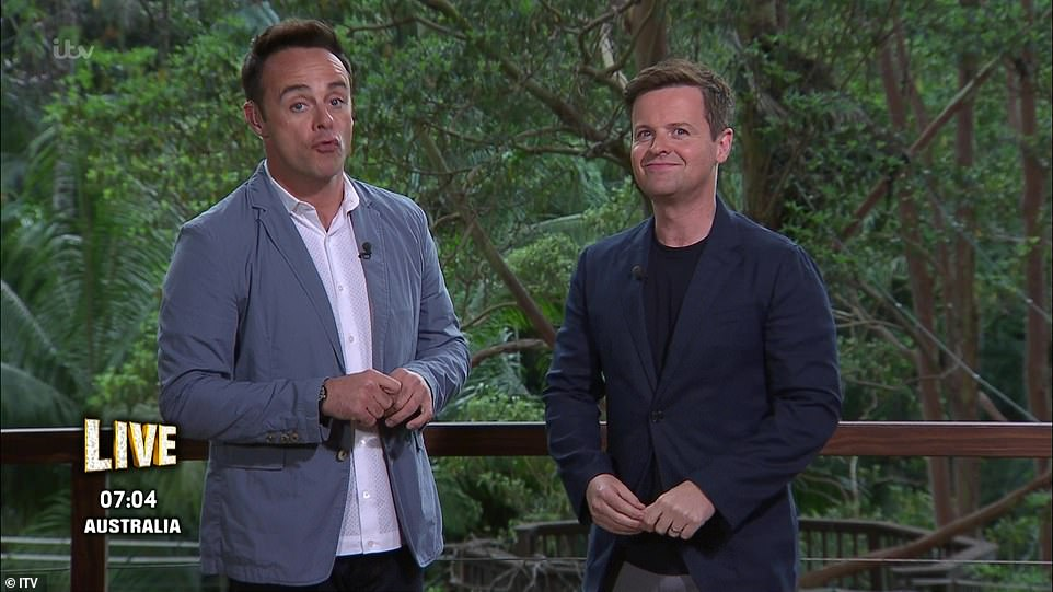 They're back!Ant McPartlin finally made his long-awaited return to I'm A Celebrity Get Me Out Of Here on Sunday night, after taking a two-year break from the show