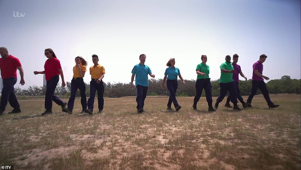 Dynamic duos: The pairs were (L-R) James and Caitlyn; Adele and Nadine; Andrew and Kate; Ian and Jacqueline and Myles and Roman