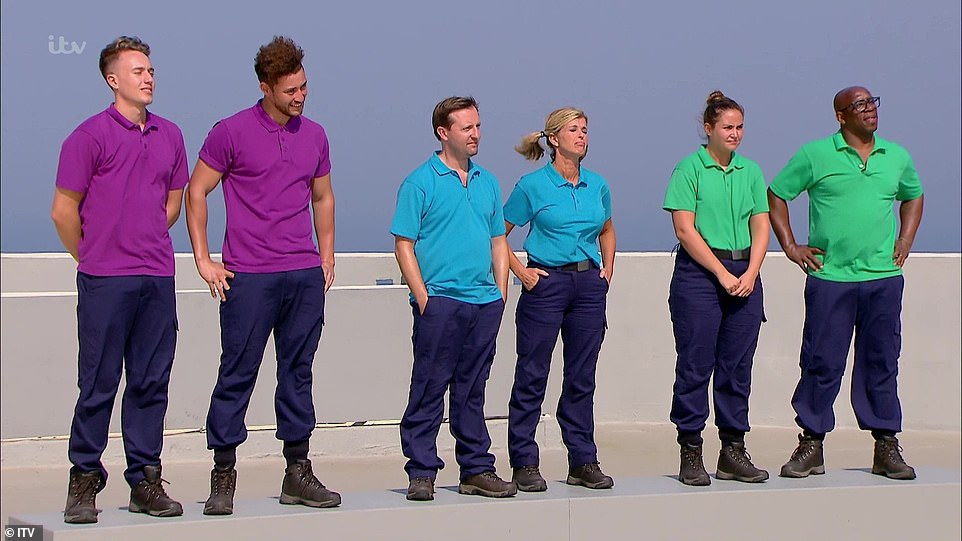 Head-to-head:Ian and Jacqueline, Roman and Myles and Andrew and Kate would battle it out to become the first power pair