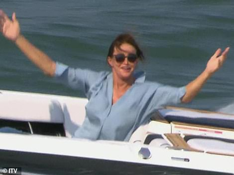And her! The last star to make her incredible entrance was formerOlympic champion and American reality star Caitlyn Jenner