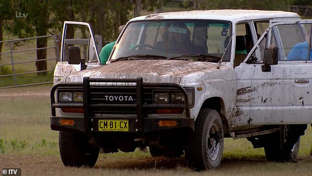 Nice wheels! I'm A Celebrity... Get Me Out Of Here! returned to screens on Sunday night, seeing half of the celebrities whisked off to camp in a luxury chopper while the rest were packed into the dirty jeep