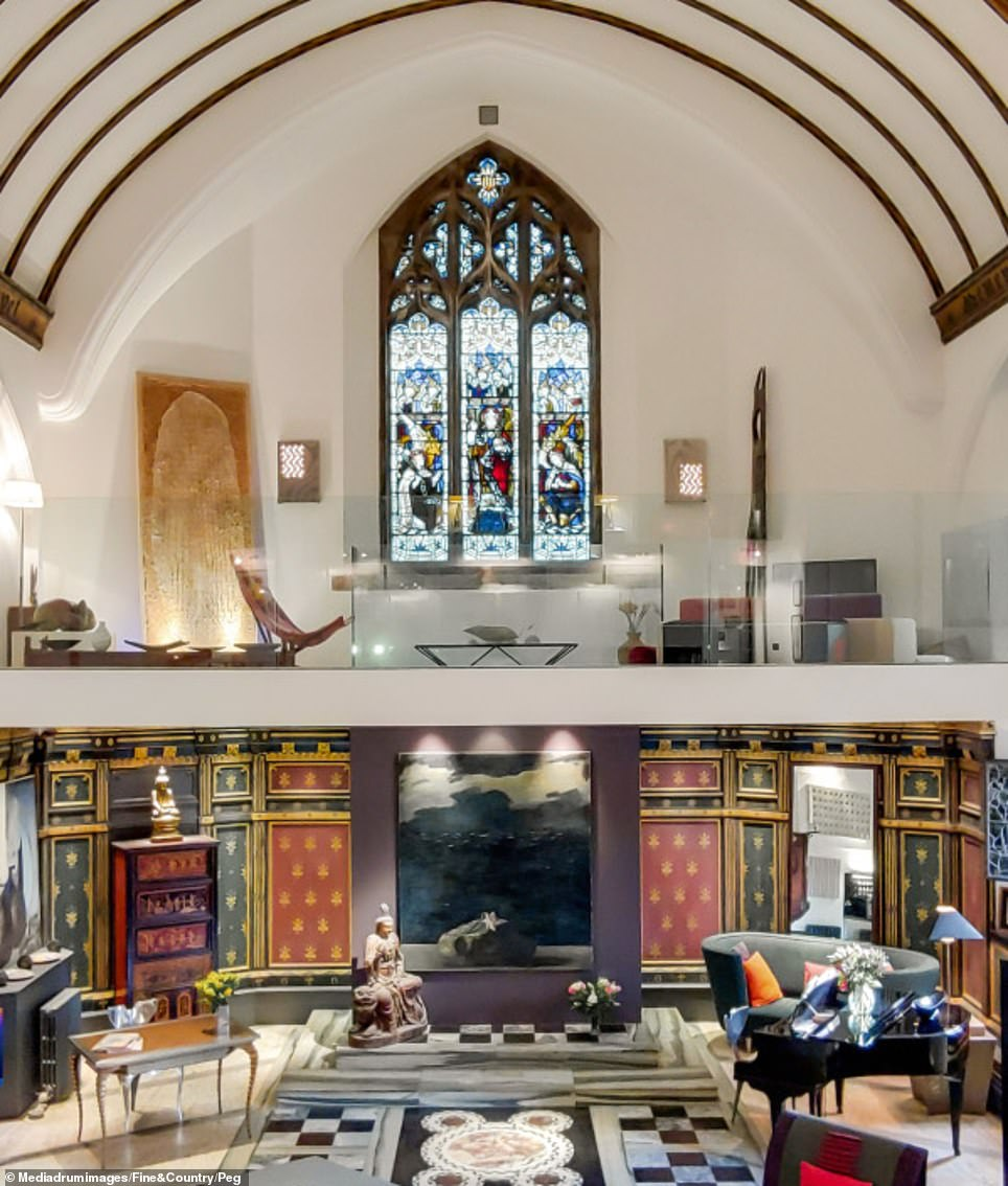 Pictured: The Chapel after the renovation